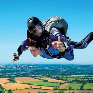 For the adventurous people who like the adrenaline rush buy them a skydiving day for this anniversary gift
