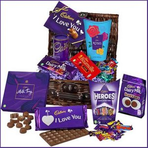 Buy him the Cadbury I Love You chocolate gift for this anniversary