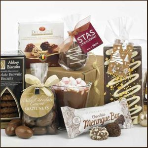 Buy her the Chocolate Heaven Hamper for this anniversary gift