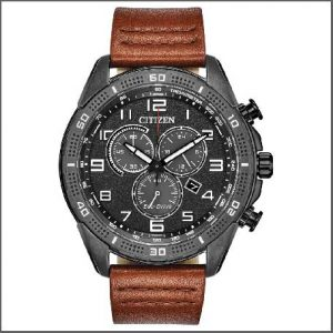 Buy him a new watch from a selection for this anniversary gift