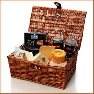 Buy them The Continental Cheese Hamper for this anniversary gift
