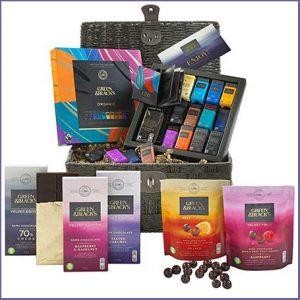 Buy him the G&B's Indulgent Dark Chocolate Basket for this anniversary gift