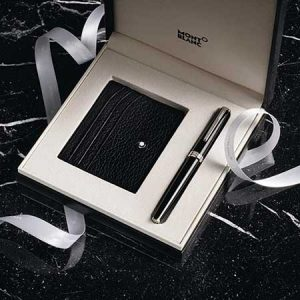 Buy him or her a special gift from Montblanc for any anniversary gift