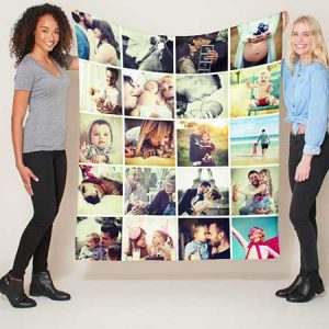Buy them a Photo Blanket with all your favourite photos for this anniversary gift