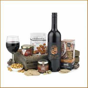 Buy him the Pate, Wine and Nibbles Hamper for this anniversary gift