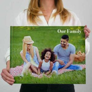 Buy them a Family Photo book from your own photos on this anniversary