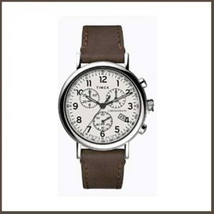 Buy him this stylish Gents Timex Quartz Analog Watch for this anniversary gift