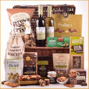 Buy them the wondrous selection hamper for this anniversary gift