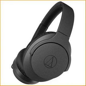 Buy him these Audio Technica Wireless Noise Cancelling Headphones for this anniversary gift