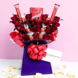 Buy her the Lindor Chocolate Bouquet for this anniversary gift