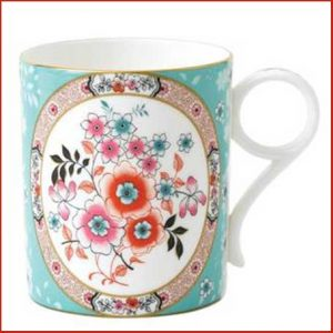 Buy this Wonderlust Small Camellia Mug for her anniversary gift