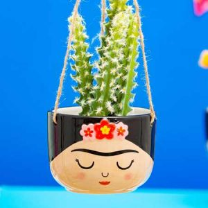 Buy her this Frida hanging planter for this anniversary gift