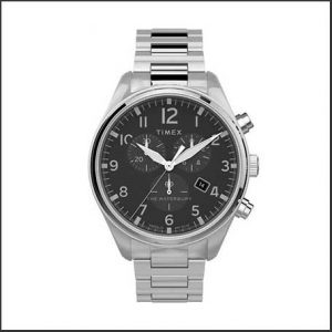 Buy him this Times Gents Quartz Analog Stainless Steel Watch gift for everyday wear on this anniversary