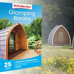 Buy them a Glamping Break for this anniversary gift