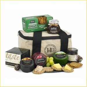 Buy Luxury Cheese and Nibbles Cool Bag for this anniversary gift