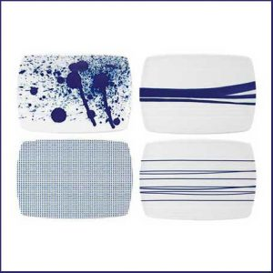 Buy these Pacific Blue Serving Board (Set of 4) for their anniversary gift