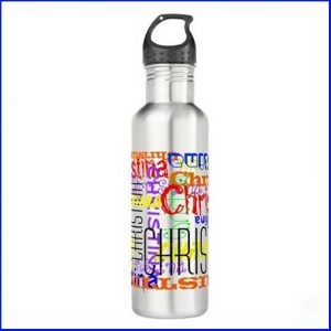 Buy him a personalised water bottle for this anniversary gift