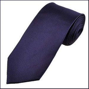 Buy him a purple silk tie or a scarf for this anniversary gift
