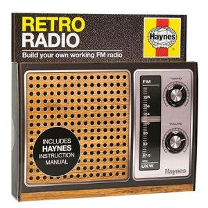 Buy him the Haynes radio kit for this anniversary gift