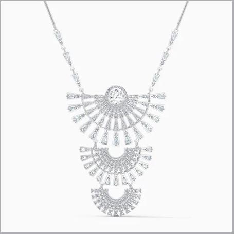 Buy her the Swarovski Dance Dial Necklace for this anniversary gift