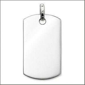 Buy him the Thomas Sabo Silver Pendant with a special engraved message for this anniversary gift