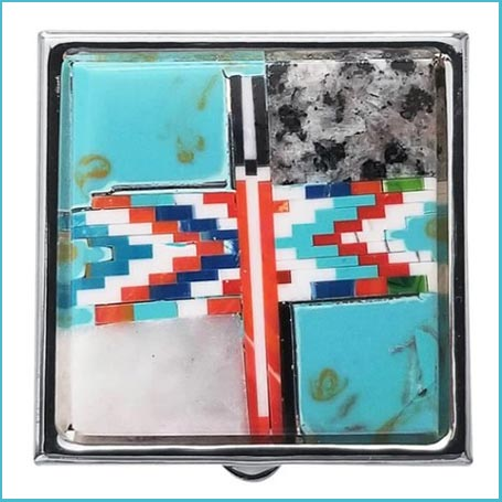 Buy her this Turquoise Trinket Box for an anniversary gift