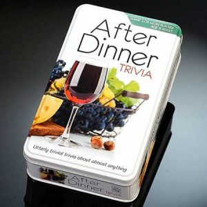 Buy them the after dinner trivia game for their anniversary gift