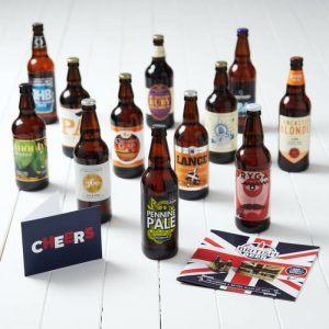Buy him the award winning beer selection for this anniversary gift