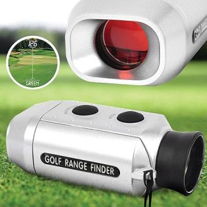 Buy him this digital golf range finder for this anniversary gift
