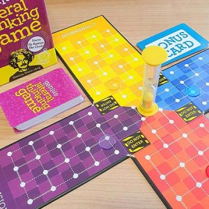 Buy them the Einstein Genius Lateral Thinking Game for this anniversary gift