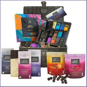 Buy them the G&B's Indulgent Dark Chocolate Basket for this anniversary gift