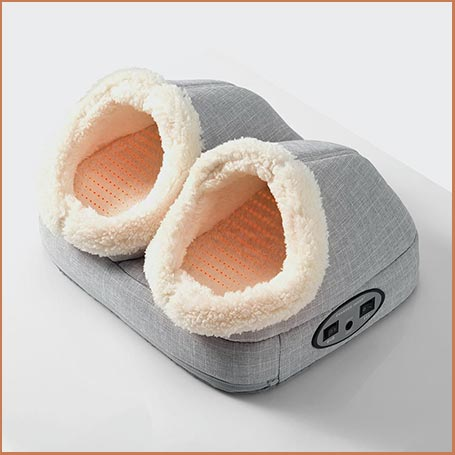 Buy her the Heated foot massager for this anniversary gift