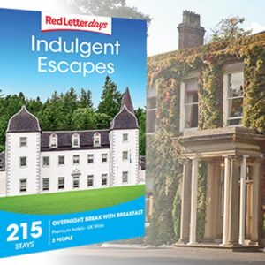 Buy them the Indulgent Escapes Gift Box with over 200 experiences to choose from for this anniversary gift