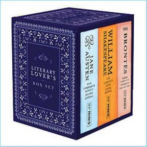 Buy her the Jane Austen complete novels in summary for this anniversary gift