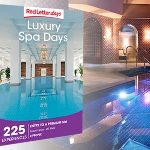 Buy her a luxury spa day for 2 with 225 experiences to choose from around the UK for this anniversary gift