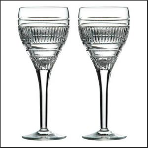 Buy them this set of Radial Wine Glasses (Set of 2)for this anniversary gift