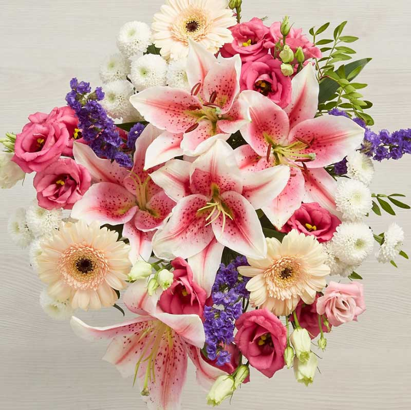 Buy them or her this beautiful Summer Time Bouquet for this anniversary gift