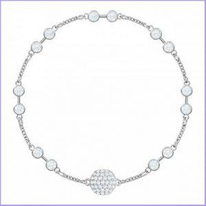 Buy her the Swarovski Timeless carrier bracelet for this anniversary gift