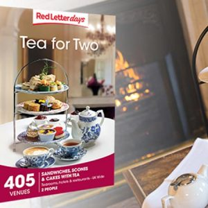 Buy them Tea for Two Gift Box with over 405 experiences available in the UK for this anniversary gift