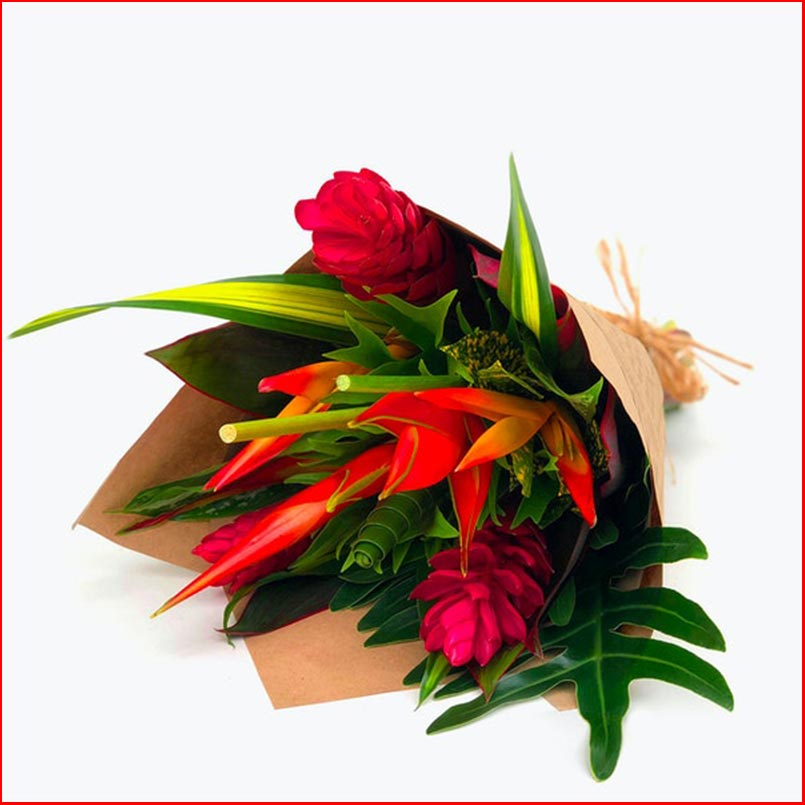 Buy the Tropical Treasure Bouquet for this anniversary gift