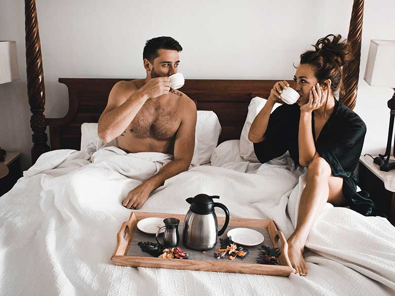 breakfast in bed on your wedding anniversary