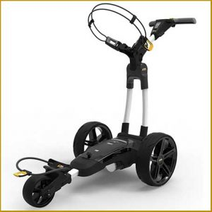 Buy him PowaKaddy FX3 Electric Golf Trolley for this anniversary gift