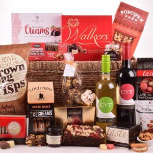 Buy them the Immaculate Selection Hamper with a vast selection of goodies for them and friends to enjoy for this anniversary gift