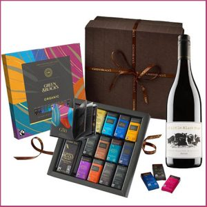 Buy him or her the Organic Tasting box and red wine, deliciously crafted smooth red wine complements our organic tasting collection perfectly for this anniversary gift