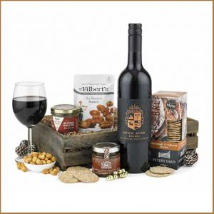 Buy him or her Pate, Wine and Nibbles Hamper for this anniversary gift