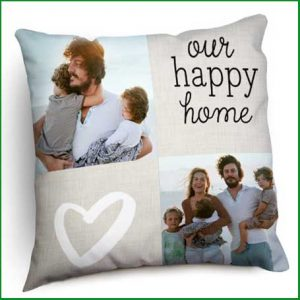 Buy them your own photos cushion for this anniversary gift