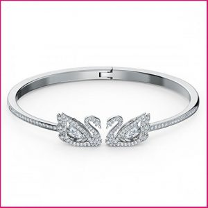 Buy her the Dancing Swans Bracelet by Swarovski for this anniversary gift