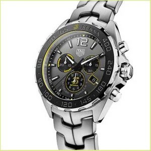Buy him this special edition Tag Heuer formula 1 Sienna watch for this anniversary gift