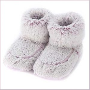 Buy her these Warmies Marshmallow Boots for this anniversary gift