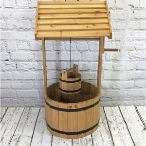 Buy them Large Wooden Wishing Well Garden Planter for this anniversary gift, Wherever it is situated in the garden it is sure to create a talking point all year round.